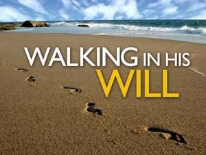 walking in Gods will
