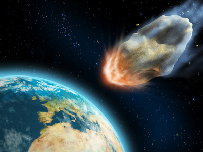 recent asteroid meteor hitting earth - photo #18